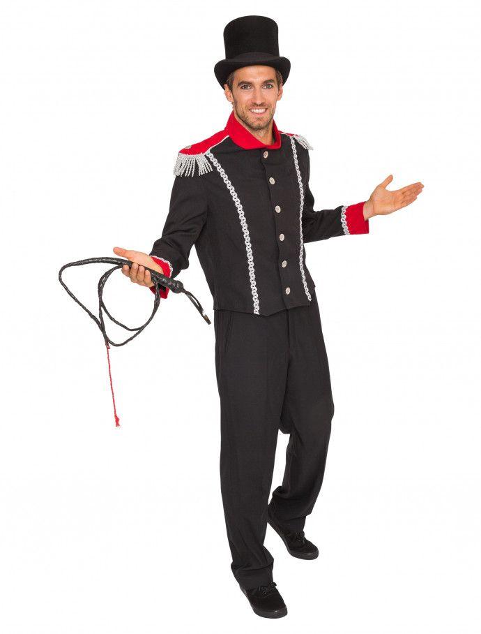 Jacke Dompteur Herren schwarz für Karneval   Fasching » Deiters  zirkus   zirkusdirektor  dompteur  rot  frack  zylinder  j…  d334bf69b9d7c