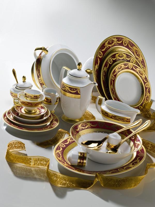 ZEPTER Masterpiece Collection Porcelain - Imperial Gold Bordeaux