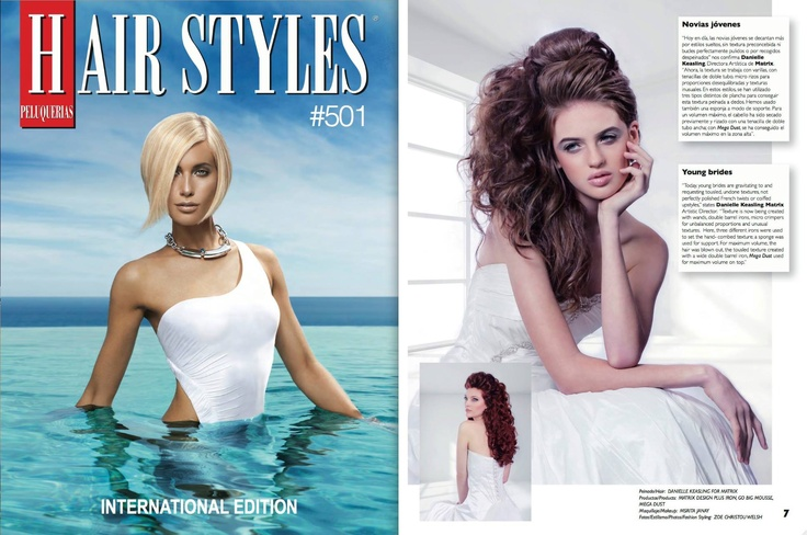 Published in PELUQUERIAS, Spain, Summer 2013 (Photos on
