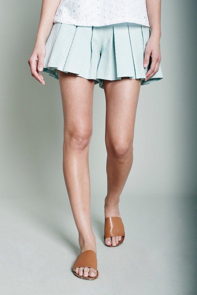 Serena Tennis Shorts - Mint