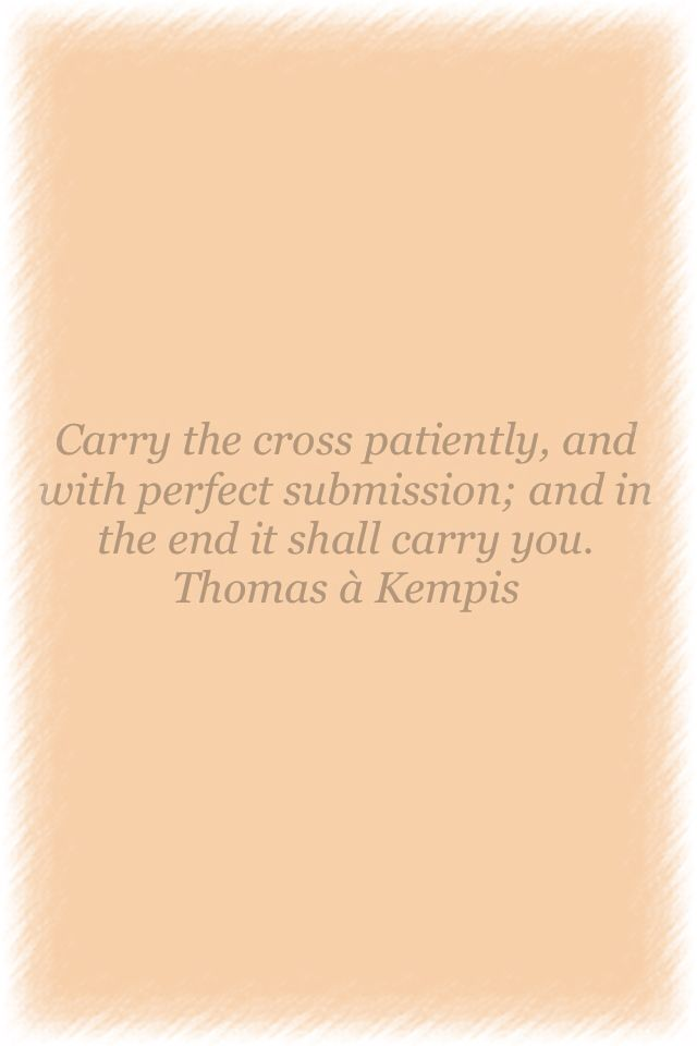 thomas kempis imitation of christ pdf