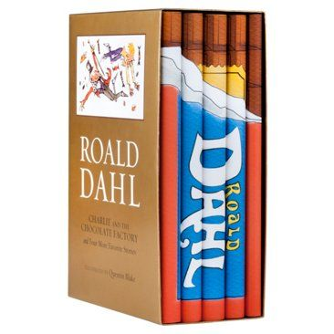 Check out this item at One Kings Lane! S/6 Roald Dahl Set