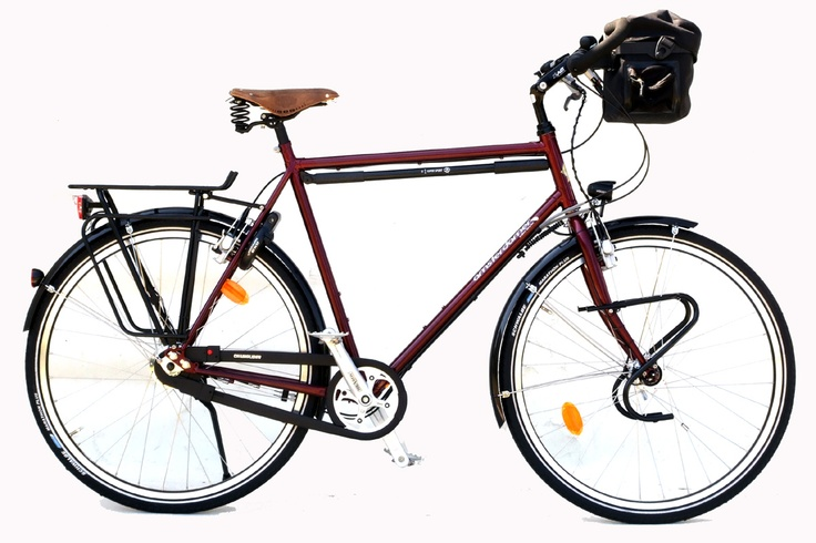 Vélo cyclotourisme Amsterdamer - Opal.