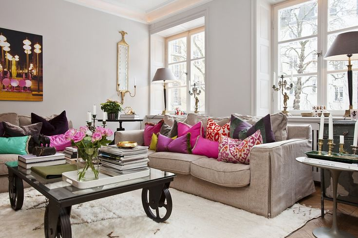 Colorful living room :)