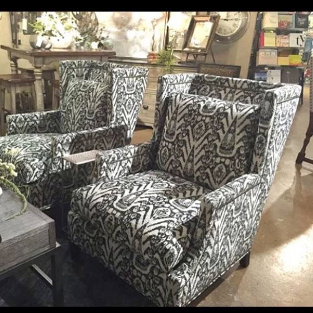 CR Laine Garrison Wing Chairs  Luxe Home Interiors | Upholstery | Pinterest  | Upholstery, Furniture Upholstery And Interiors