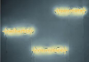 || NEON ||  Title: Catharsis, Conversion, Traumata Artist: Joseph Kosuth