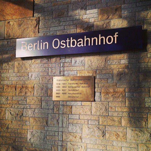 Berlin Ostbahnhof à Berlin, Berlin