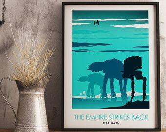 Star Wars: Episode V das Imperium schlägt zurück  von CultPoster