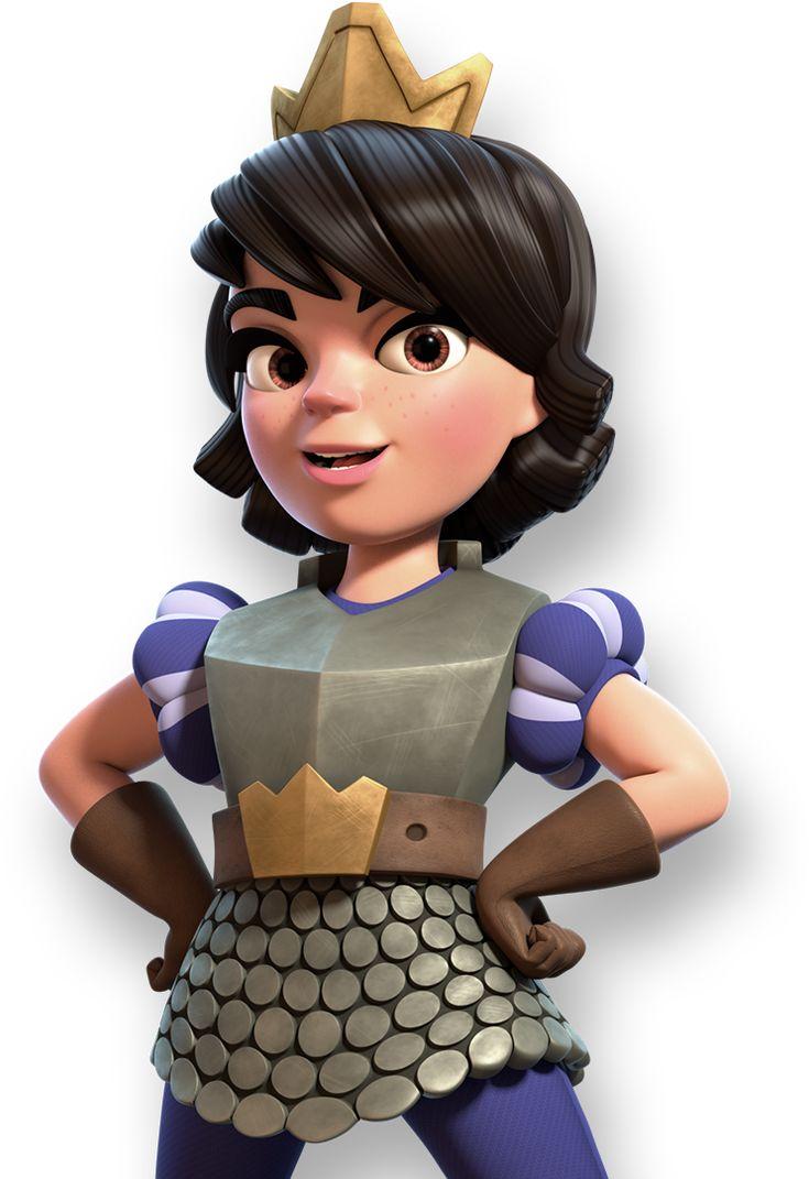 Image result for princess clash royale   クラロワ, ゲーム, イラスト