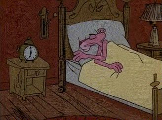 pink panther animated GIF