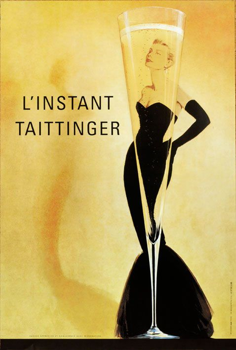 i love vintage french champagne posters.