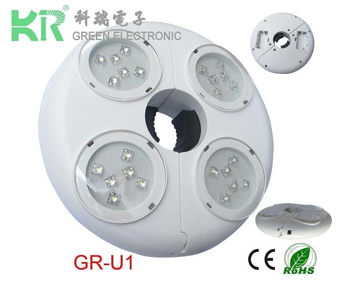 with battery and rechanger led umbrella light (GR-U1) - China led umbrella light, KR