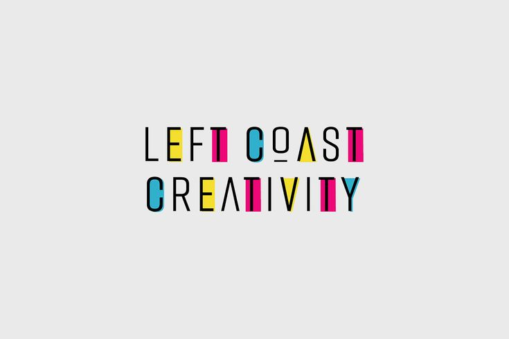 Logo Design for Left Coast Creativity. Graphic Design by Emily Banks Creative.