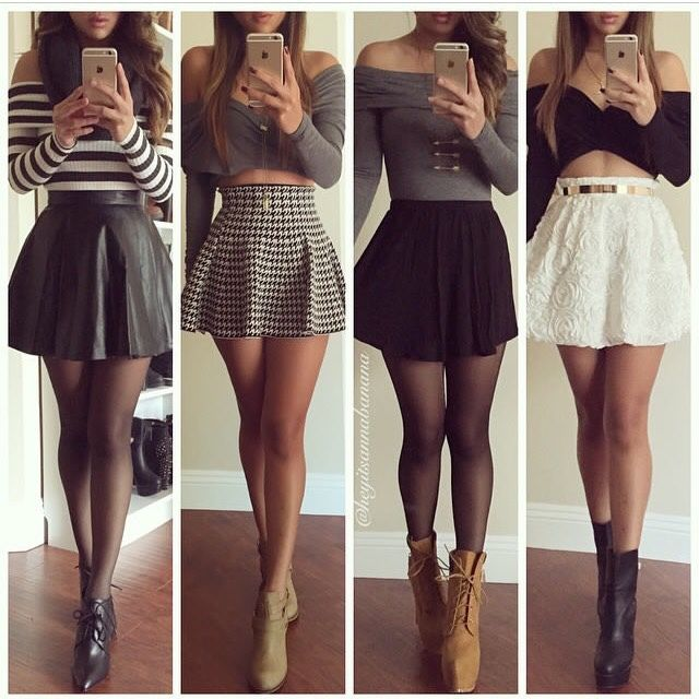 Clothes Boots Skirts