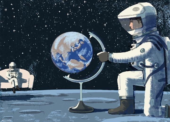 The World Is Flat, Again, Tatsuro Kiuchi