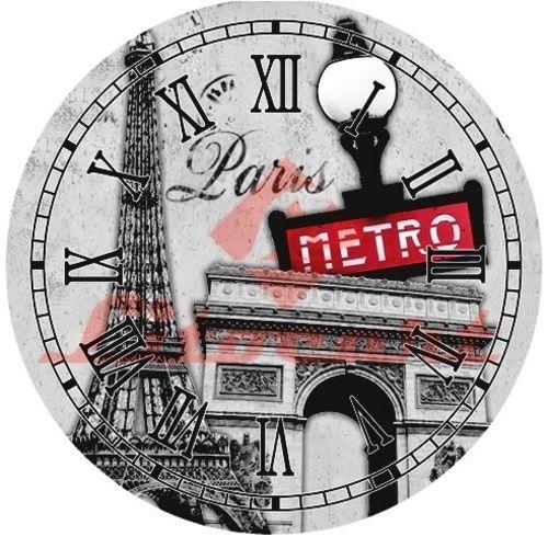 Decoupage Relogio Grande Paris Litocart Ldrg-16