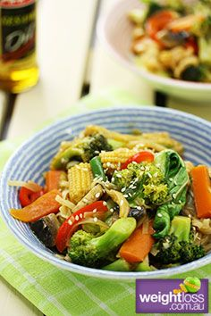 Chinese+Vegetable+Stir+Fry.+#HealthyRecipes+#DietRecipes+#WeightLossRecipes+weightloss.com.au
