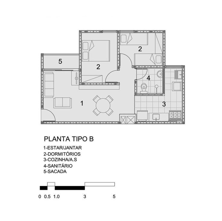 Galería de Vivienda Social Heliópolis / Biselli Katchborian Arquitetos - 21