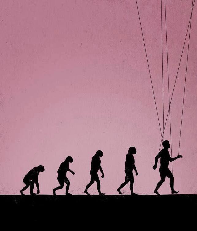 Illustration by Maentis. Evolución  Ficción?
