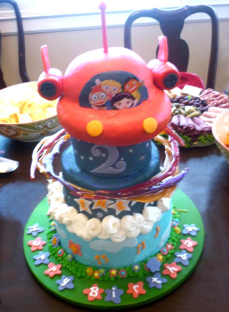 Little Einsteins Birthday Party Food Ideas