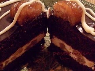 taart met tamme kastanje hmmmmm....