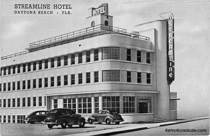 Streamline Hotel Daytona Beach Fl 1940 39 S Florida