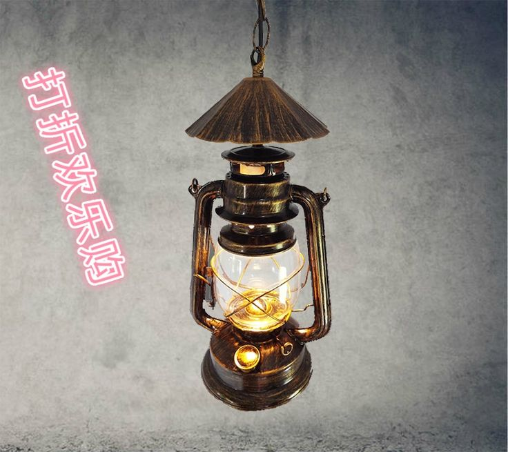 69.99$  Watch here - Nordic kerosene lantern vintage bronze chandelier lamp aisle lights , wrought iron and creative restaurant bar lighting engineer  #buymethat