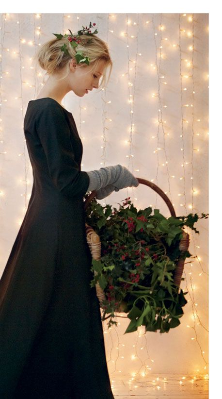 Winter gathering of the Holly