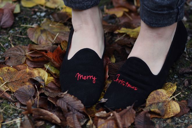 Merry Chrismas Slippers - Exclusif Chaussures - www.exclusifchaussures.fr