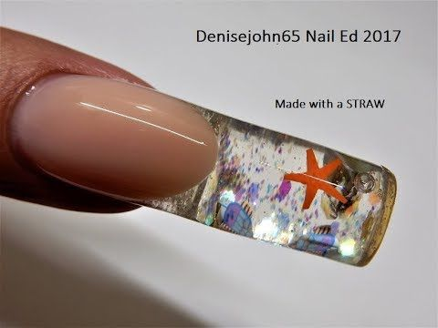newest aquarium nail new technique ! one of the best ! - 480×360