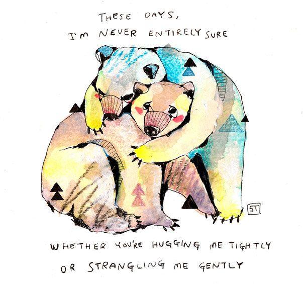 bear with me by Sirin Thada