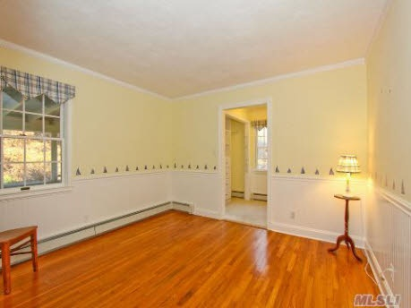 wainscoting with baseboard heating
