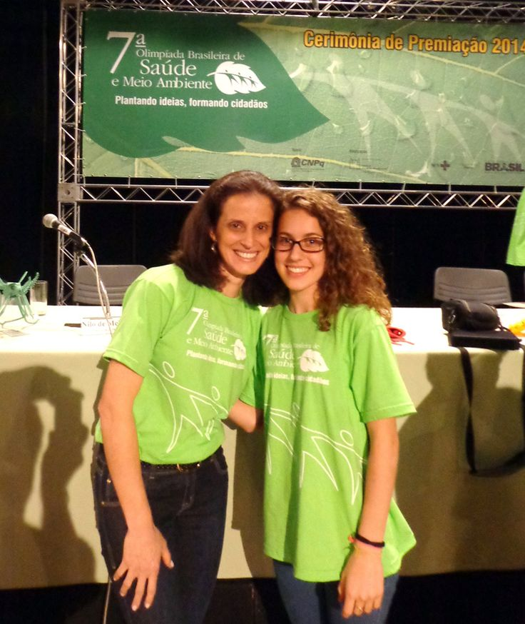 A aluna Regina Merini Valcanaia, da Escola de Educação Básica Ruy Barbosa, que pertence à Gerência Regional de Educação (Gered) da Secretaria Regional de Timbó, foi premiada na 7ª Olimpíada Brasileira de Saúde e Meio Ambiente