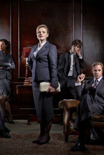 Silk - the British legal system confuses me but I like the show anyway. I started watching because Rupert Penry Jones is in it, but I really like the main character, Martha.