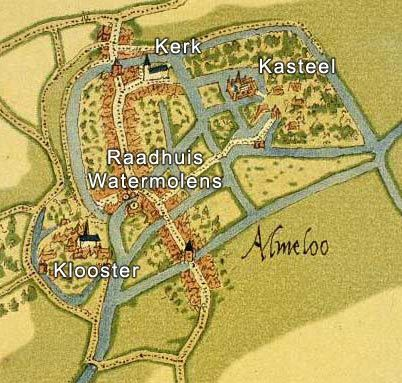 De guerrillatactiek wordt vaak gebruikt in Twente. De staatse ritmeester Gert van Balen en vaandrig Arent Brecke plunderen de stad Almelo (tekening) op 10 juni 1587. Ruim 80 woningen gaan in vlammen op voordat de staatse soldaten terugkeren naar Lochem. Stadhouder Verdugo vreest daarna een echte aanval. Spanje trekt troepen van Parma terug om met de armada een aanval op Engeland te doen. Staatse soldaten zouden zich misschien verzamelen in Zwolle.
