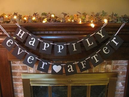 bridal shower banner...maybe with a different saying using my cricut!