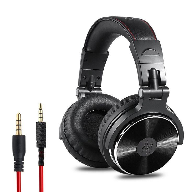 Studio Pro オーディオ ヘッドホン 折りたたみ式 密閉型 直接携帯電話やDJ機器に使用できるヘッドセット オーディオ用 おすすめ度*1 ASIN B07253F7L5 ケーブル着脱可能、折りたたみ可能な持ち運びに便利なヘッドホン。密閉型だが、遮音性はそれほどでもなく、周囲の音は聞こえるが、音楽を再生すると強い低域でだいぶ聞こえなくなる。音漏れはかなり少ない。 付け心地は低価格品では良好。ヘッドバンドは左右からしっかり挟み込む固定力の強いものだが、ヘッドバンド・イヤーマフともにクッションがしっかりしていて優しく、長時間使用でも耳が痛くならない。イヤーマフは蒸れやすいが、さらっとした材質…