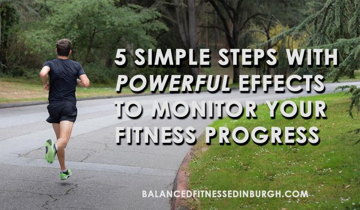 5 Simple Steps With POWERFUL Effects to Monitor Your Fitness Progress