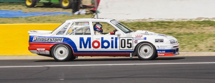 1987 Bathurst 1000 winner, Holden VL Commoder driven by Peter Brock, Peter McLeod & David Parsons at the 1012 Bathurst 1000 celebrating the 50th running of the great race