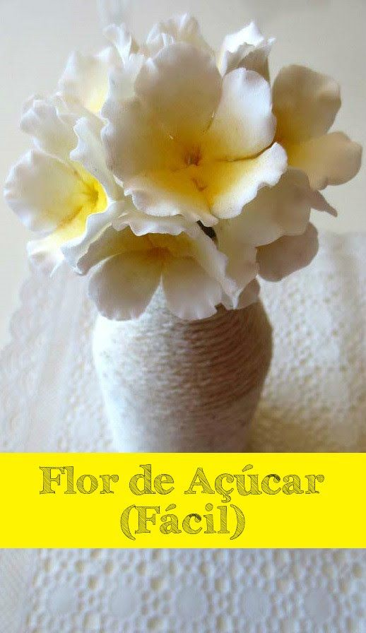 Florzinha de Açúcar | Simples e Bem Fácil Mais