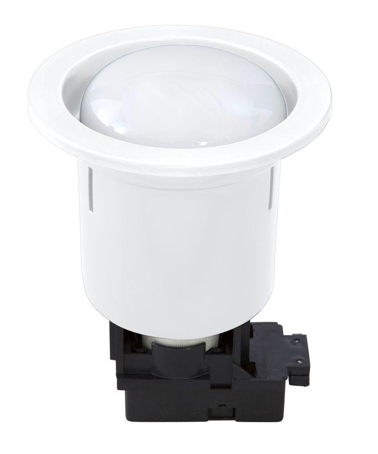 Uni 5 Compact Fluorescent Downlight 15w in White