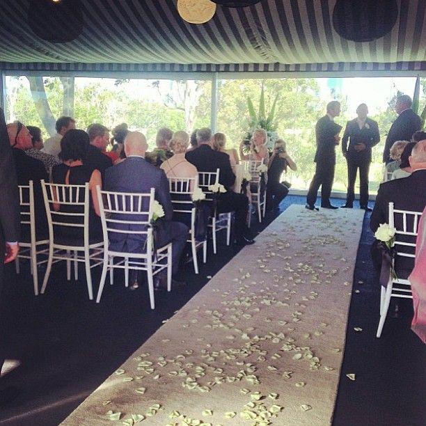 Victoria Park Golf Complex - Garden Marquee. Brisbane Wedding Ceremony Locations & Venues