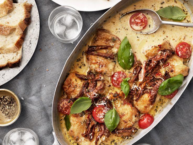 Krämig italiensk kycklinggratäng | Recept från Köket.se