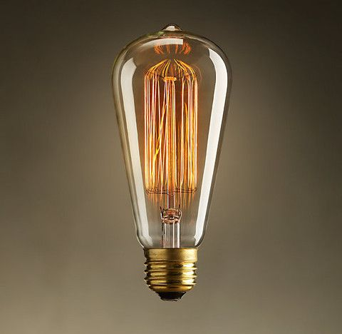 Edison bulb squirrel cage filament old fashioned lamp for Buyers choice light bulbs