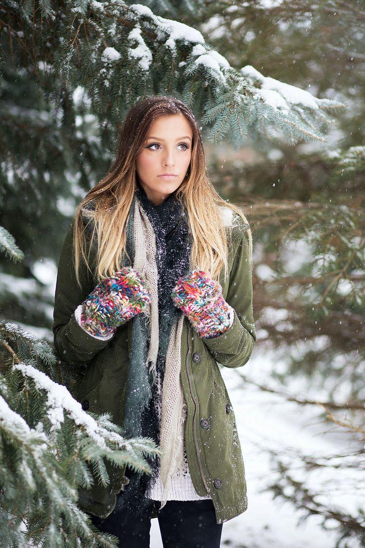 примеры фото в зимнем парке радостном событии мария