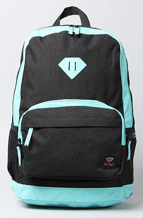 Diamond Supply Co. The School Life Backpack in Black Diamond Blue : Karmaloop.com - Global Concrete Culture