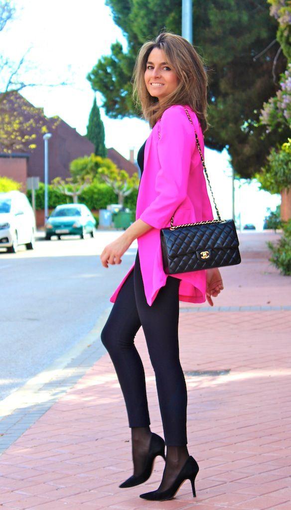 Fashion and Style Blog / Blog de Moda . Post: Neon / Neón.See more/ Más fotos en : http://www.ohmylooks.com/?p=14760 by Silvia