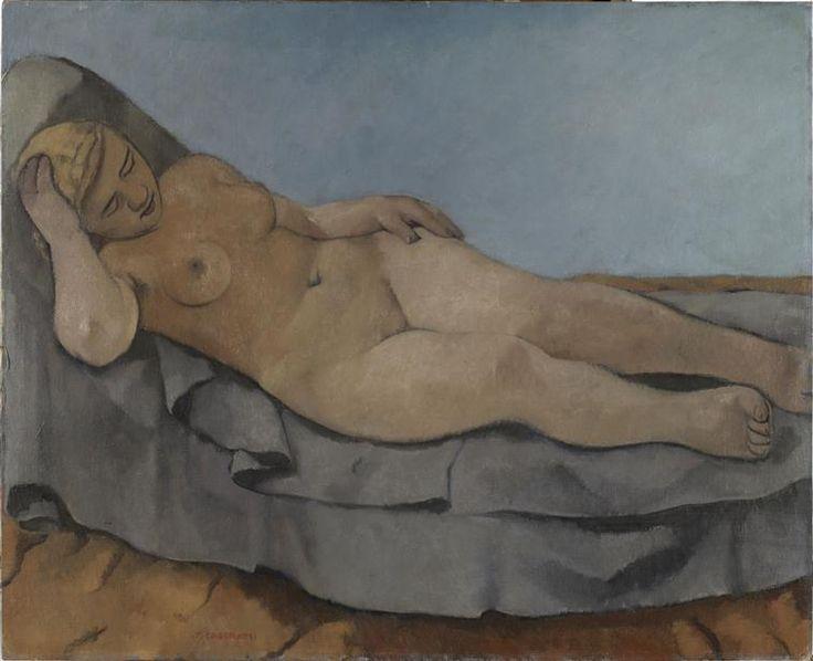 Vénus blonde - Casorati Felice (1886-1963) Paris, Centre Pompidou - Musée national d'art moderne - Centre de création industrielle
