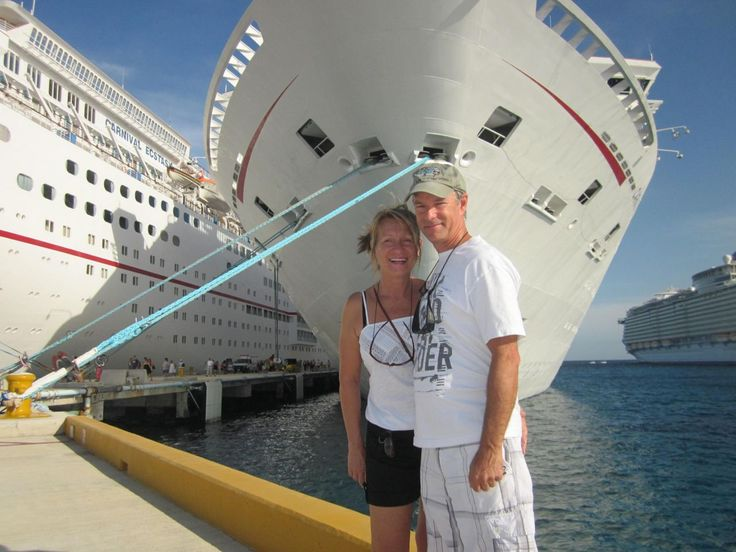 haha - this boat is not from Caraquet - but a nice looking couple :)