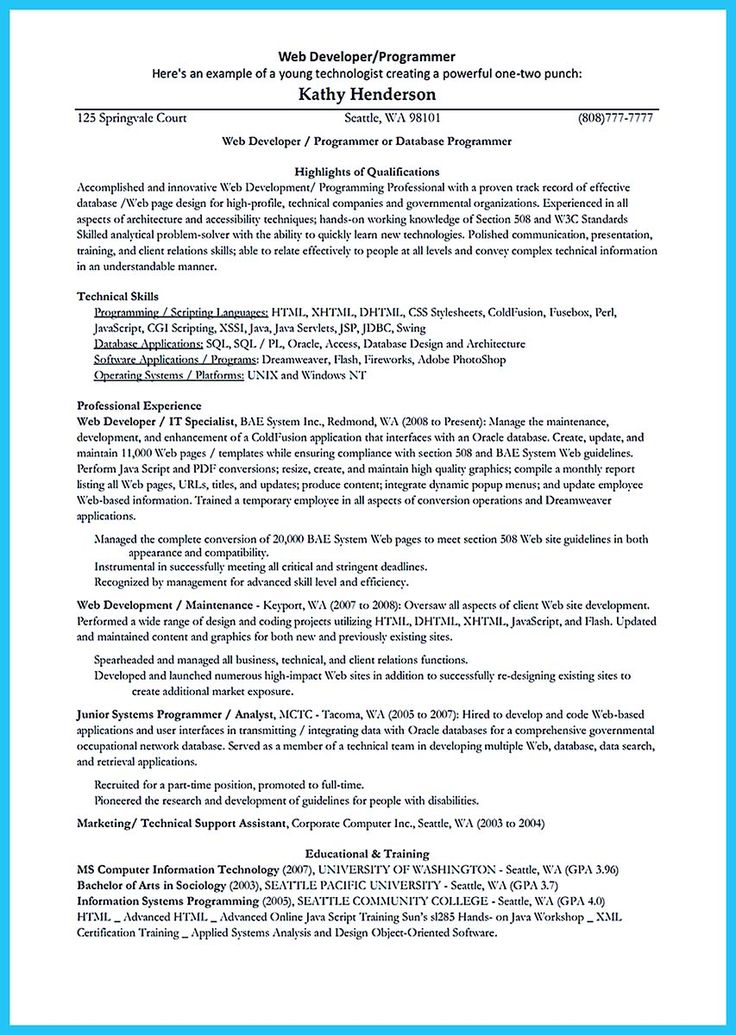 nice How Professional Database Developer Resume Must Be Written, Check more at http://snefci.org/professional-database-developer-resume-must-written